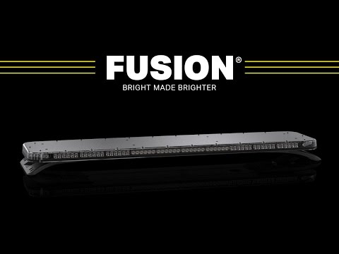Fusion light bar the brightest light bars for police fusion light bar the brightest light bars for police firefighters and ems mozeypictures Images