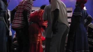 Vodou Ceremony with Flute at Lakou Bon Kira Leogane