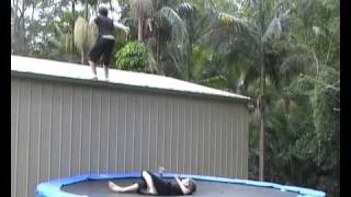 The Best Trampoline Wrestling Of All Time 4