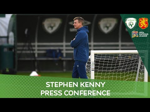 PRESS CONFERENCE | Ireland manager Stephen Kenny on the UEFA Nations League match against Bulgaria
