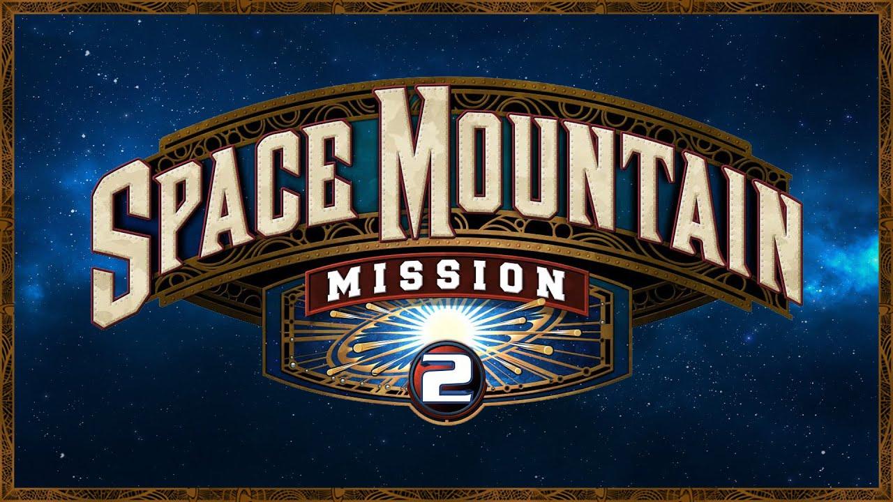 Exclu - Le 1er voyage de Space Mountain Mission 2 - YouTube