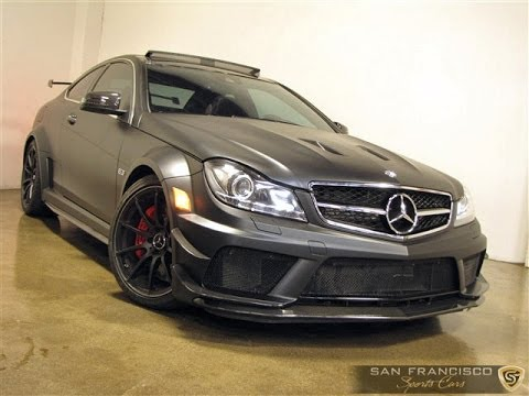 2012 mercedes benz c63 for sale wild and crazy amg black. Black Bedroom Furniture Sets. Home Design Ideas