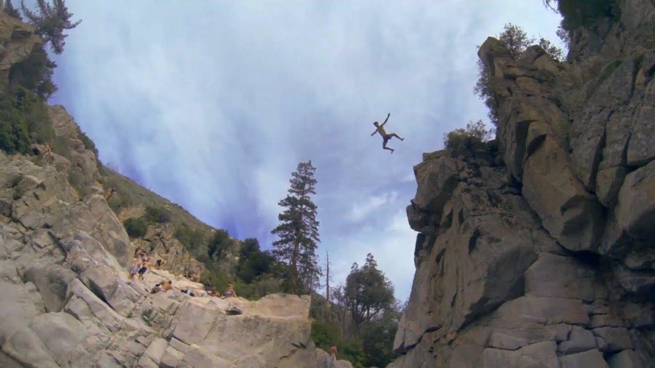 Aztec Falls Cliff Jumping 6 21 14 Youtube