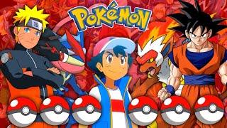 Anime Character's Pokémon Reveal !! | Pokémon For Each Anime Characters In Hindi | Pokémon In Hindi