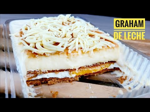 Trending Creamy And Delicious Graham De Leche | Dessert Lover Recipe (no Bake Dessert)