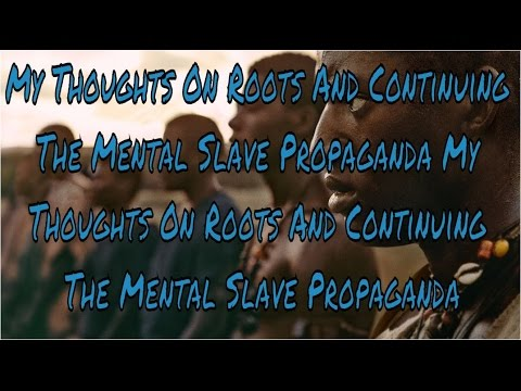 My Thoughts On Roots And Continuing The Mental Slave Propaganda