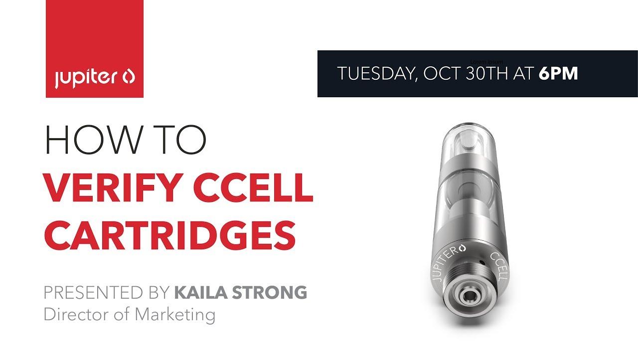 #TechTalkTuesday | How To Verify CCELL Cartridges
