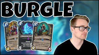 Hearthstone   Burgle Time!   Wild Tempo Thief Rogue   Rise of Shadows