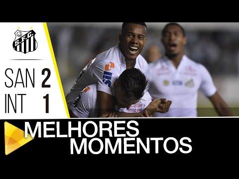 Santos 2 x 1 Internacional | MELHORES MOMENTOS | Copa do Brasil (28/09/16)