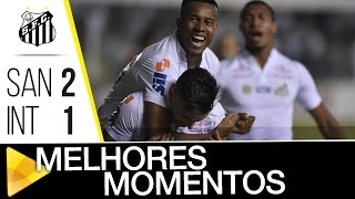 Video Gol Pertandingan Santos FC vs Internacional