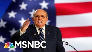 Rudy Revue: Rudy Giuliani's Wild Week Defending Trump On FOX News | The 11th Hour | MSNBC