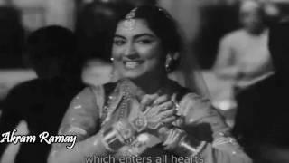 Saqiya Aaj Mujhe Neend Nahin - Asha Bhosle - Sahib Bibi Aur Ghulam (1962) - HD