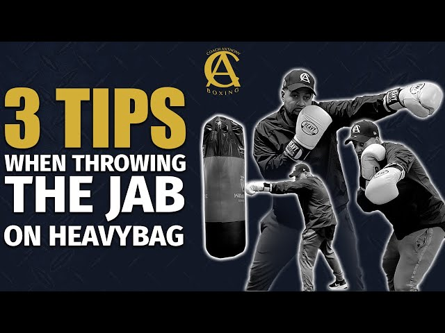 3 Tips When throwing the jab on the Heavy Bag [ Important information ]