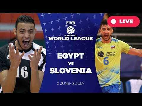 Egypt v Slovenia - Group 2: 2017 FIVB Volleyball World League