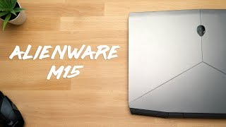 alienware m15 review beware of the hot surface