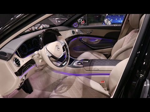 2017 Mercedes-Maybach S600   Mercedes-Benz / Small Review