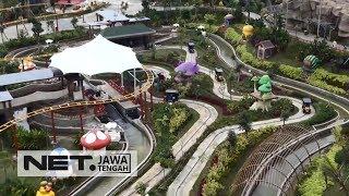 Serunya Bermain di Theme Park Terbesar Di Jawa Tengah - NET JATENG