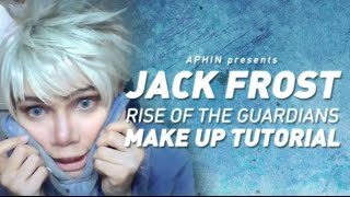 jack frost cosplay makeup tutorial rise of the guardians