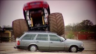 Can You Kill An Old Merc? Part 3: Crushing It With A Monster Truck - Fifth Gear