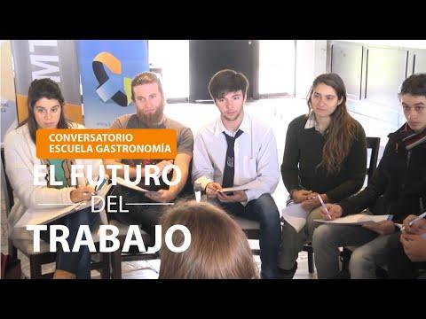 Conversatorio sobre el Futuro del Trabajo-Escuela de Gastronomia-parada 12 Punta del este