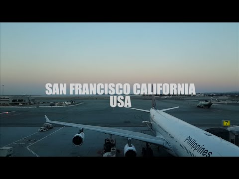 PINOY FLIGHT CREW MANILA TO SAN FRANCISCO VLOG via Philippine Airlines
