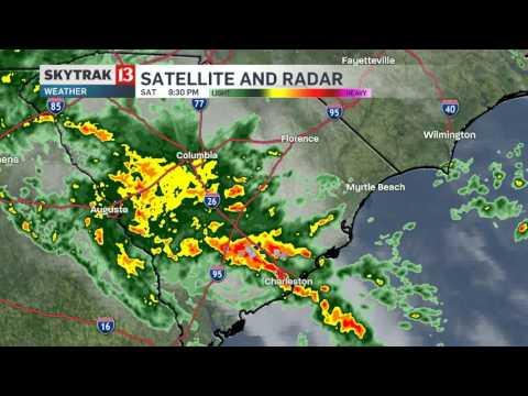48 Hour Radar Lapse Of Historic South Carolina Flooding