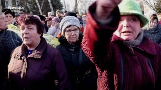 Столкновения сторонников и противников блокады в Краматорске
