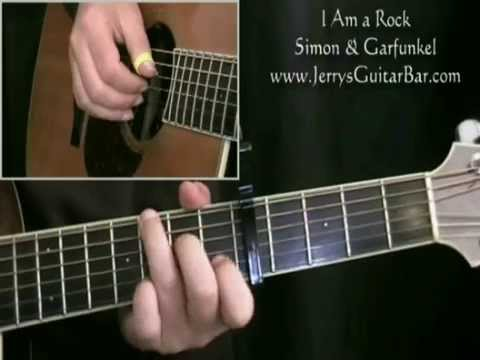 How to Play the Introduction to I Am a Rock Simon & Garfunkel