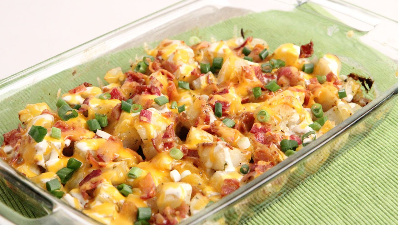 Cheesy Bacon Ranch Potatoes Episode 1035