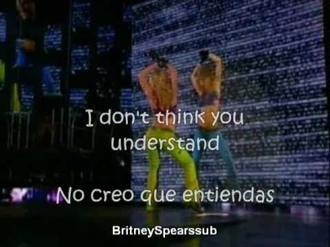 Britney Spears Lonely subtitulos español ingles