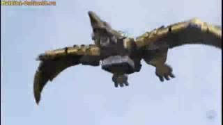 Могучие рейнджеры дино заряд все битвы мегазорда Power rangers Dino charge all fights megazords