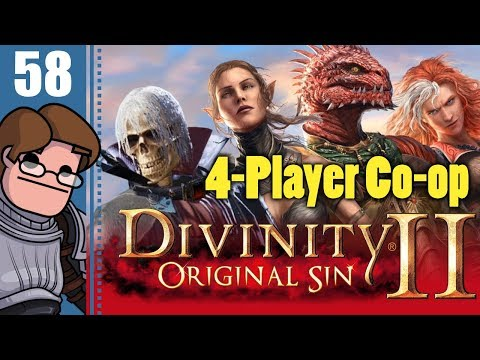 Let's Play Divinity: Original Sin 2 Four Player Co-op Part 58 - The Dreaded Fire Voidlings