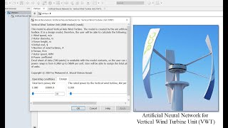 Artificial Neural Network | Model Creation | for Vertical Axis Wind Turbine |  Matlab | Simulink