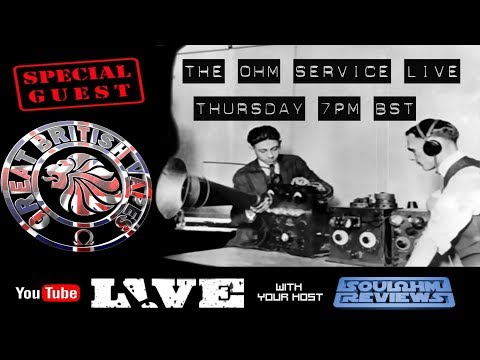 The Ohm Service Live: With Special Guest GBV Nation : #19072018