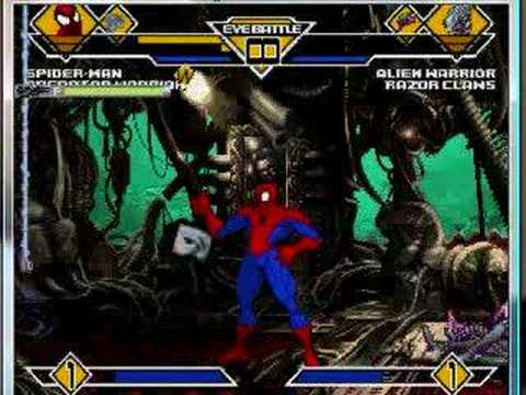 SS Spidey Mugen #5 Spiderman and Predator vs more Aliens ...