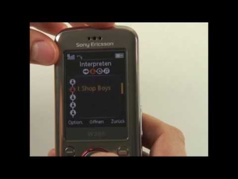 Sony-Ericsson W395 Test Musikplayer