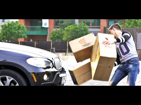 Invisible Boxes vs Drivers Prank