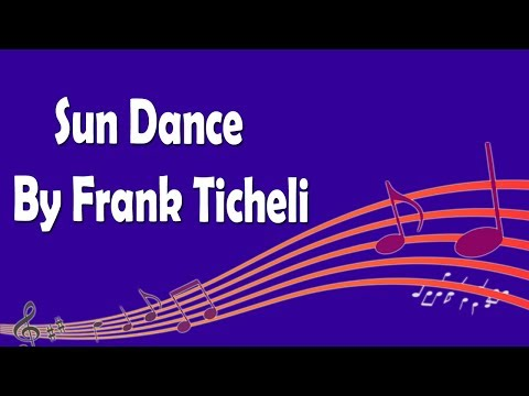 Sun Dance By Frank Ticheli