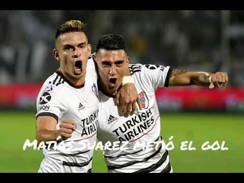 Matías Suarez autor del gol del triunfo de River se refirió al cambio con Pratto