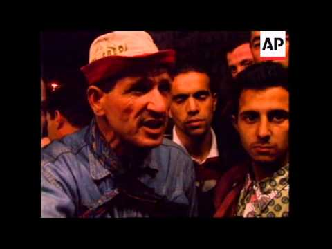 ALGERIA: YOUNGSTERS CELEBRATE AFTER DAILY RAMADAN FAST