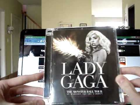 ▽13: GaGa Update || Monster Ball DVD in Super Jewel Case