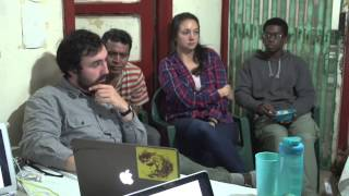Mexican Coffee Farm: Evening Discussions