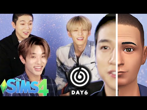 K-pop Stars 'DAY6' Make Each Other In The SIMS 4