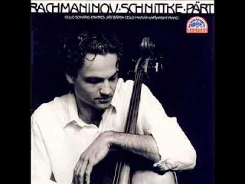 Sergei Rachmaninoff: Cello Sonata in G minor, Op. 19: Andante (3. movement)
