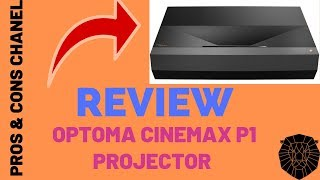 Optoma CinemaX P1 4K UHD Laser TV Home Theater Projector Review
