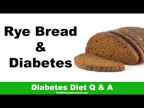 Is Rye Bread Good For Diabetes?