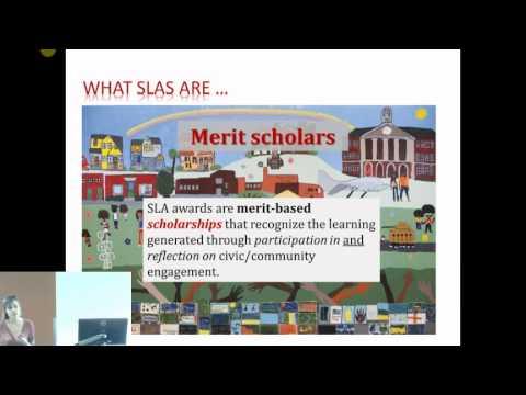 SLA Student Orientation: 2015-16
