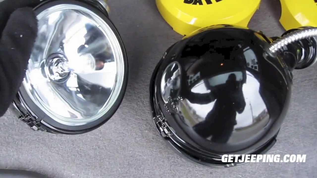 Kc Off Road Lights Wiring 25 Diagram Images Light Harness How To Install Daylighters Getjeeping Youtube