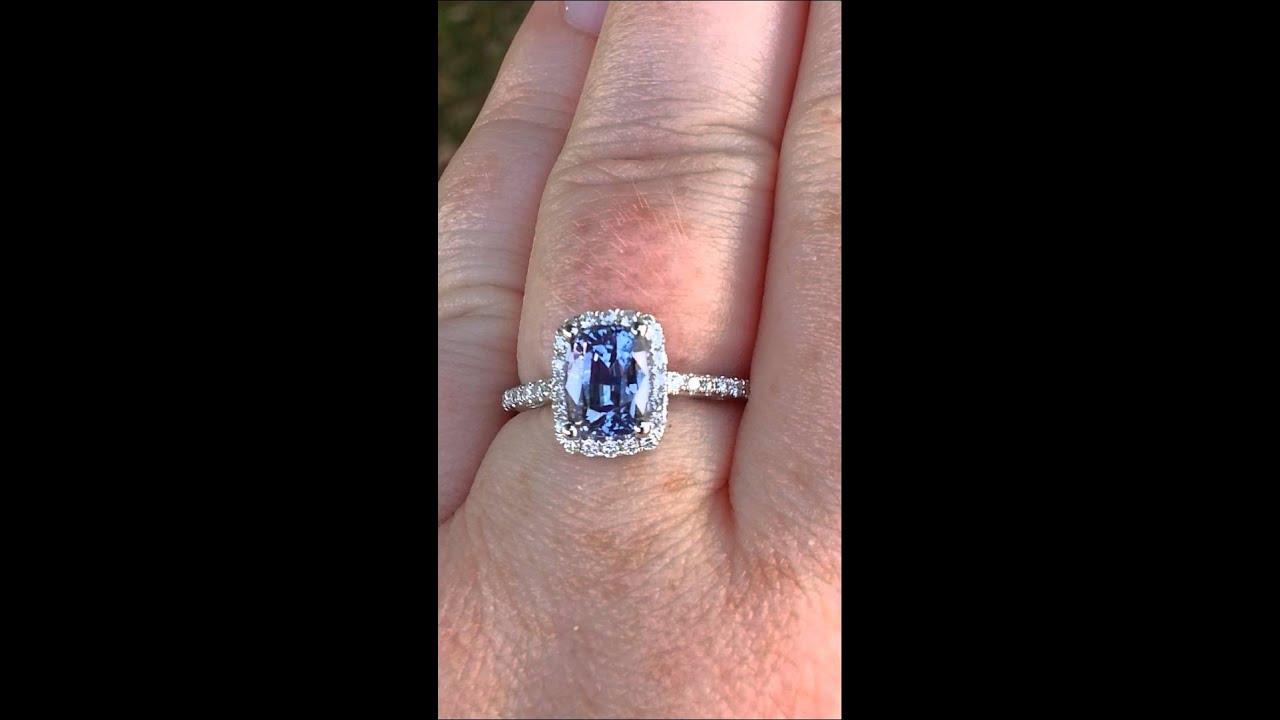 Ceylon Pink Sapphire Ring