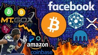 Mt. Gox to Blame for the Recent Bitcoin CRASH?!? Is $1,800 the Next Target? Facebook Blockchain